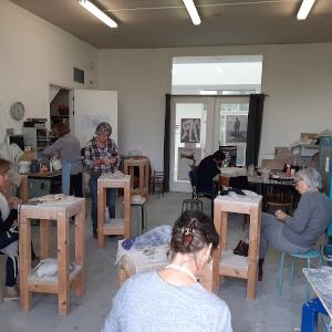 Atelier Monique Sleegers cursus boetseren