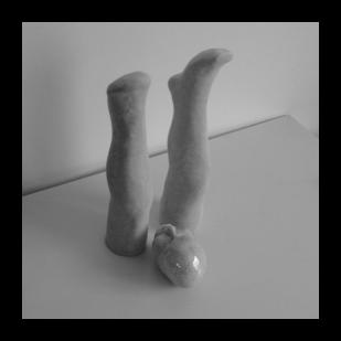 beeldende kunst: benen en hoofd