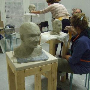 workshop portret boetseren 20 oktober