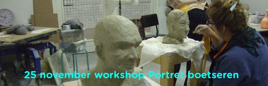 workshop portret boetseren 25 november