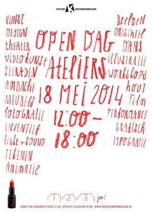 Open Ateliers Kersenboomgaard 2014