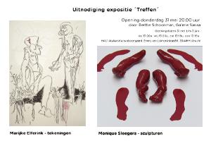 expositie Marijke Elferink Monique Sleegers