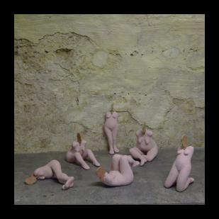kunst: beeldengroep Baadsters