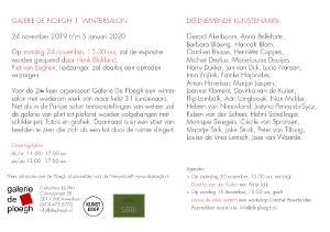 uitnodiging expositie wintersalon_galerie de Ploegh Amersfoort 2019