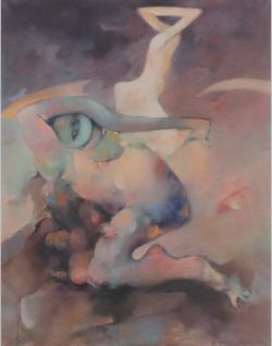 Blog beelden boetseren Atelier Monique Sleegers Utrecht schilderij Dorothea Tanning