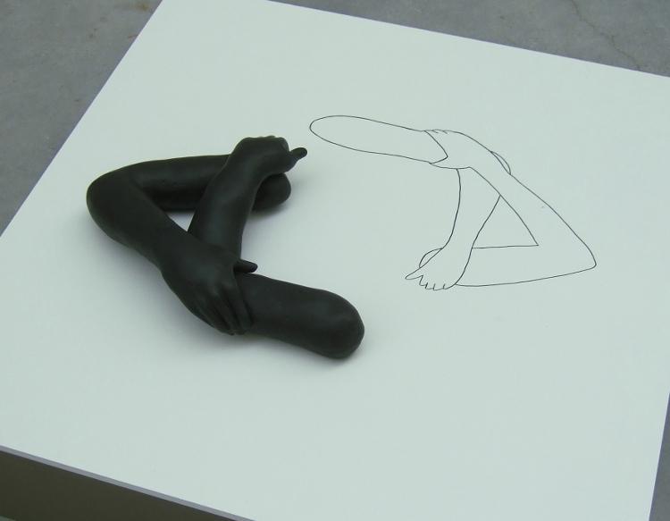 sculptuur (aan)Geraakt