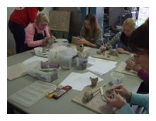 workshop Blij met klei