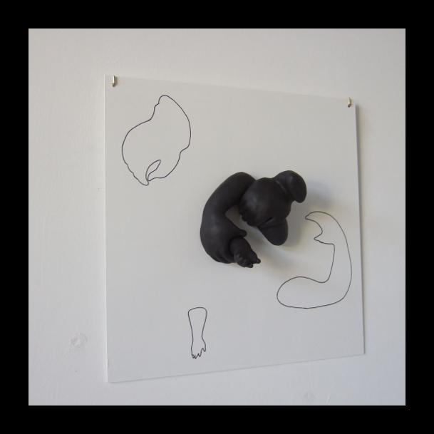 sculptuur Infanticide