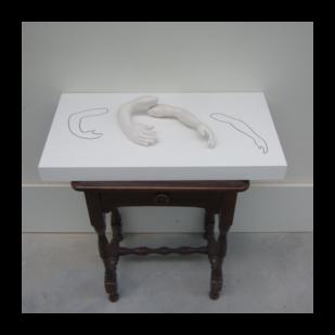 sculptuur Zonder titel II 2017