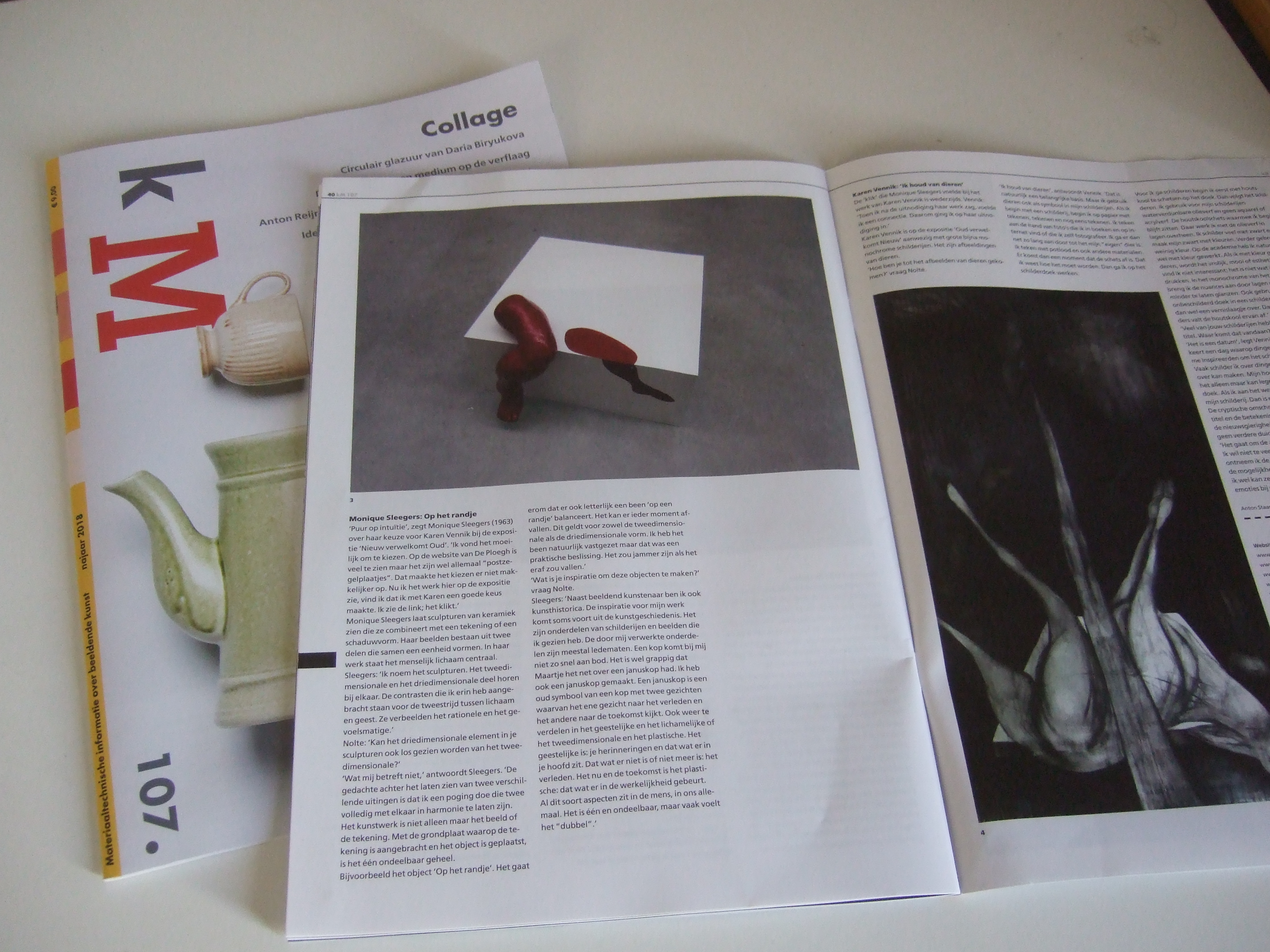 artikel tijdschrift Km